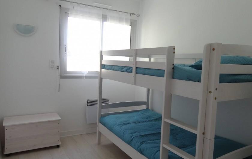 Location de vacances - Villa à Damgan - Chambre 2 rez-de-chaussée