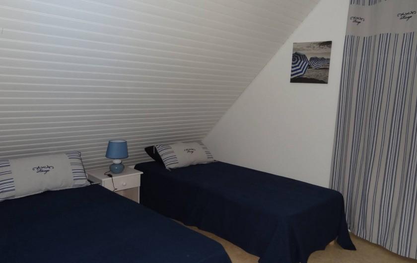 Location de vacances - Villa à Damgan - Chambre 5 à l'étage