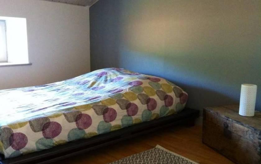 Location de vacances - Appartement à Puy-Saint-Martin - Chambre 3 (avec dressing).