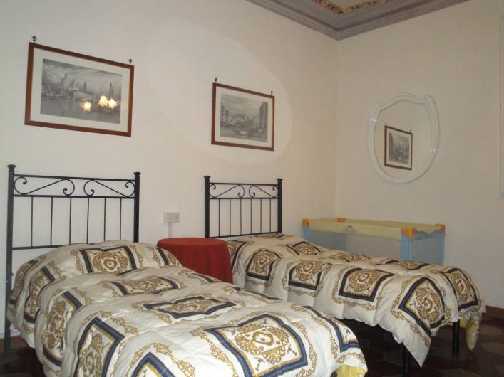 Location de vacances - Appartement à Lucques - Chambre Cavaliere