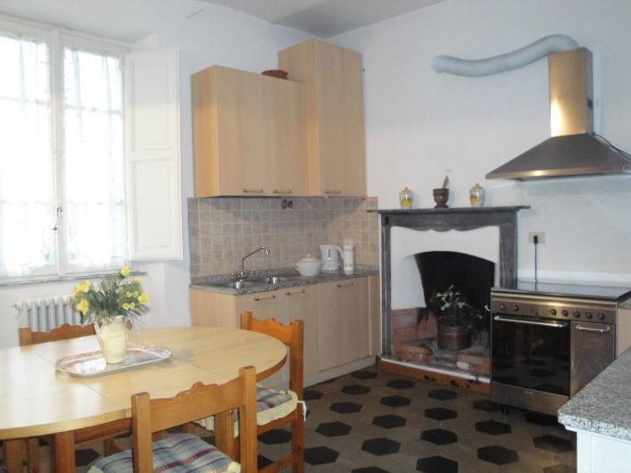 Location de vacances - Appartement à Lucques - Cuisine Cavaliere