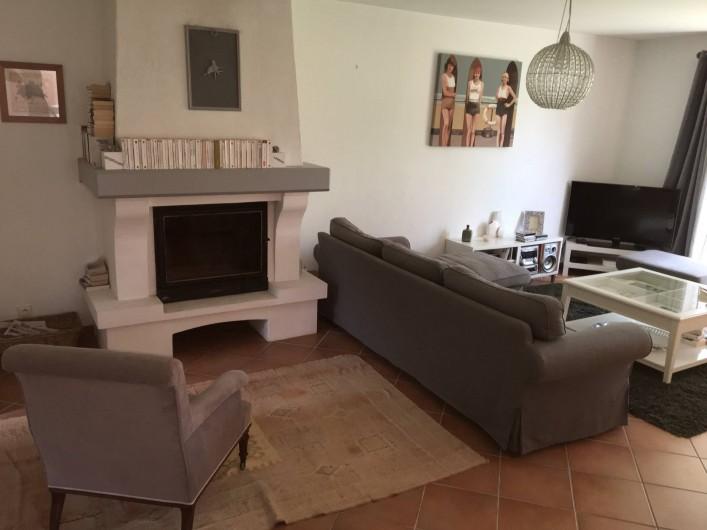 Location de vacances - Villa à Hyères - Coin lecture