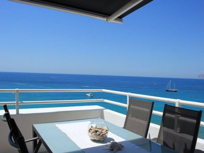 Location de vacances - Appartement à Calp - Dining on Terrace