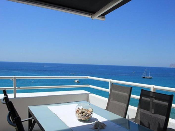 Location de vacances - Appartement à Calp - Dining on Terrace