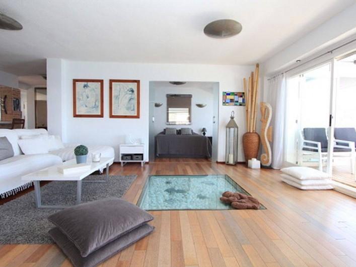 Location de vacances - Appartement à Calp - Lounge from Veranda