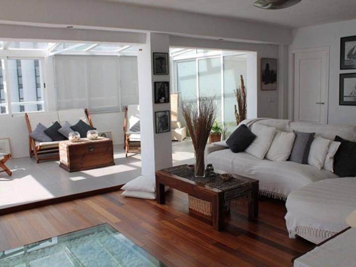 Location de vacances - Appartement à Calp - Lounge / Veranda