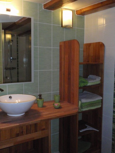 Location de vacances - Gîte à Orbey - Salle de bains