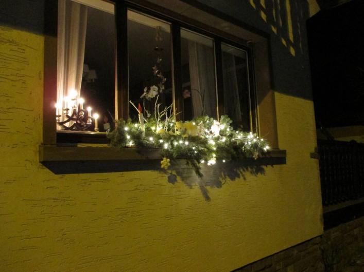 Location de vacances - Chambre d'hôtes à Monswiller - Décoration de Noël