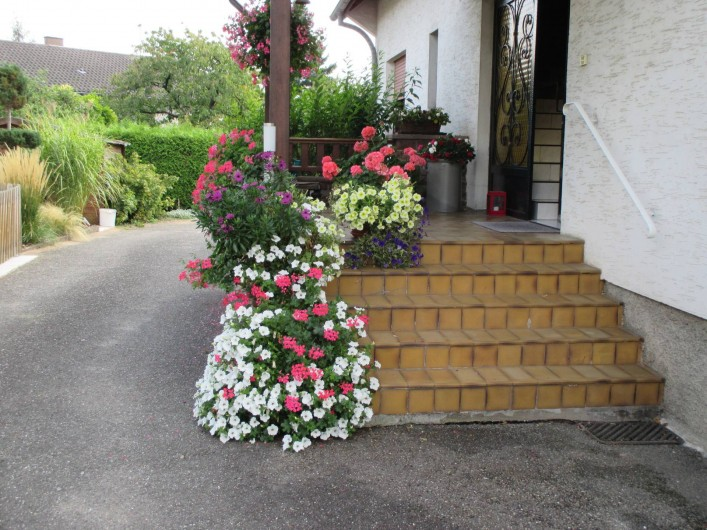 Location de vacances - Chambre d'hôtes à Monswiller - Entrée