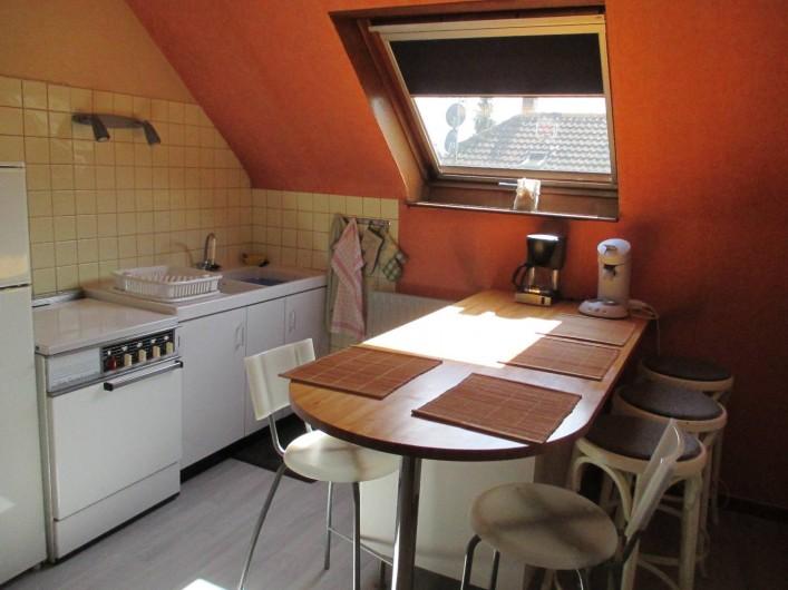 Location de vacances - Chambre d'hôtes à Monswiller - Cuisine