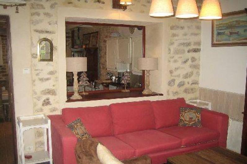 Location de vacances - Maison - Villa à Bénodet - salon