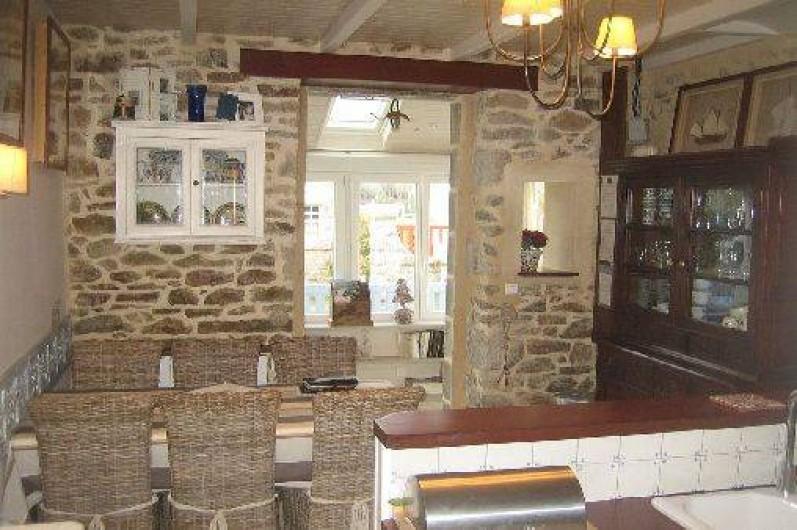 Location de vacances - Maison - Villa à Bénodet - salle à manger