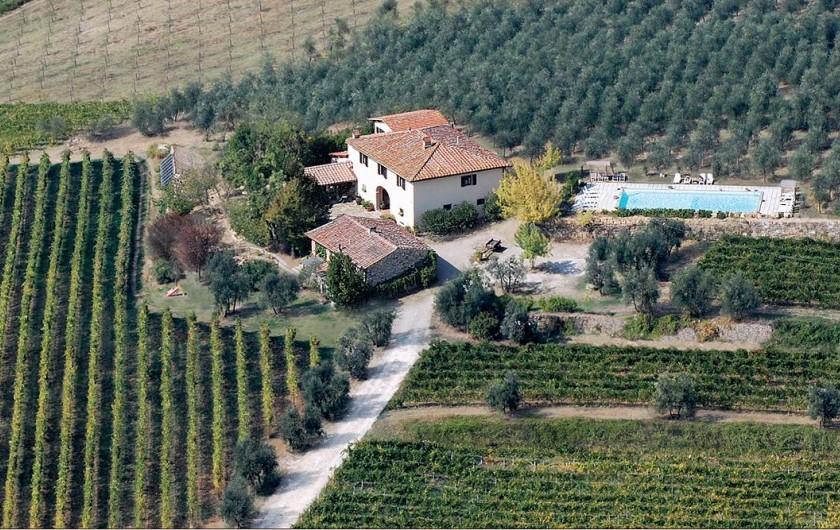 Location de vacances - Appartement à San Jacopo Al Girone - Vue panoramique