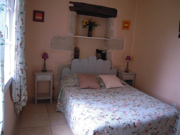 Location de vacances - Gîte à Pailloles - CHAMBRE 1 LIT DOUBLE