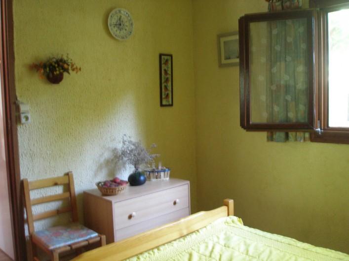 Location de vacances - Maison - Villa à Portiragnes Plage - chambre du rez- de- chaussée
