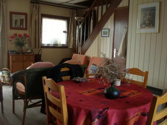 Location de vacances - Maison - Villa à Portiragnes Plage - salle à manger