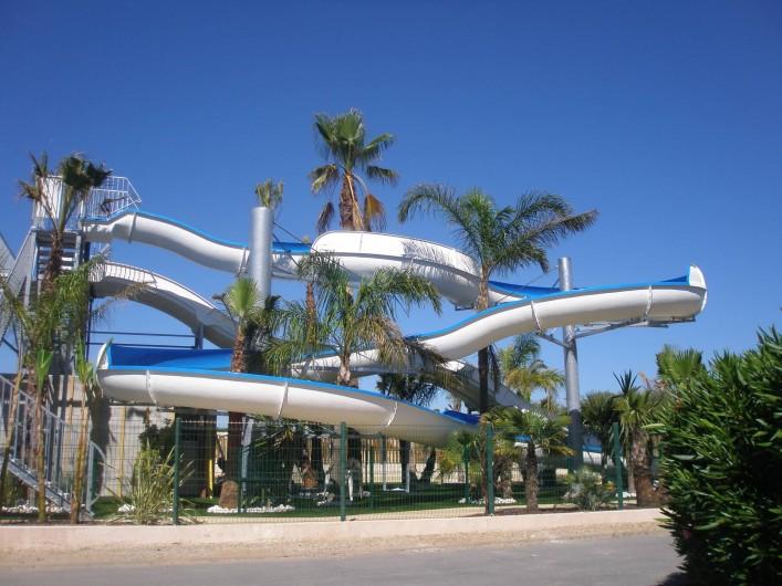 Location de vacances - Maison - Villa à Portiragnes Plage - toboggans
