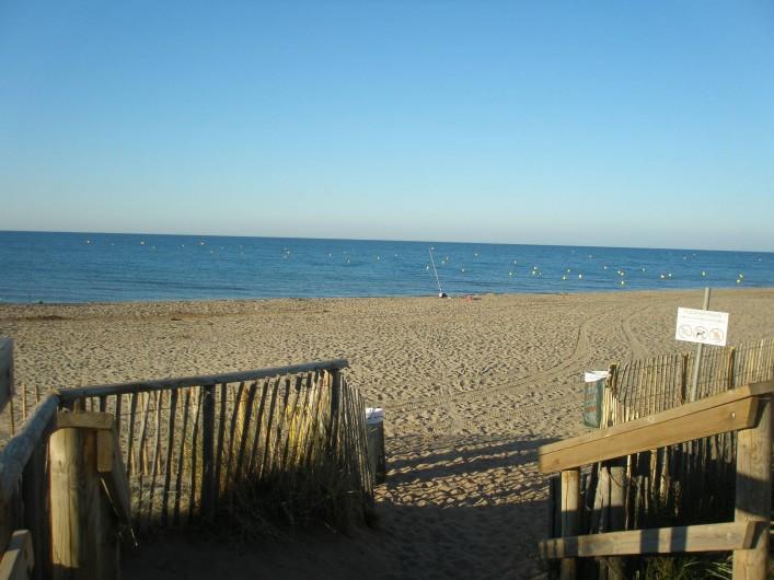 Location de vacances - Maison - Villa à Portiragnes Plage - vue de la plage
