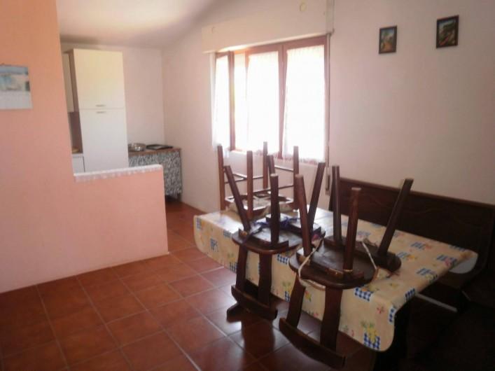 Location de vacances - Appartement à Tertenia - cuisine et coin repas