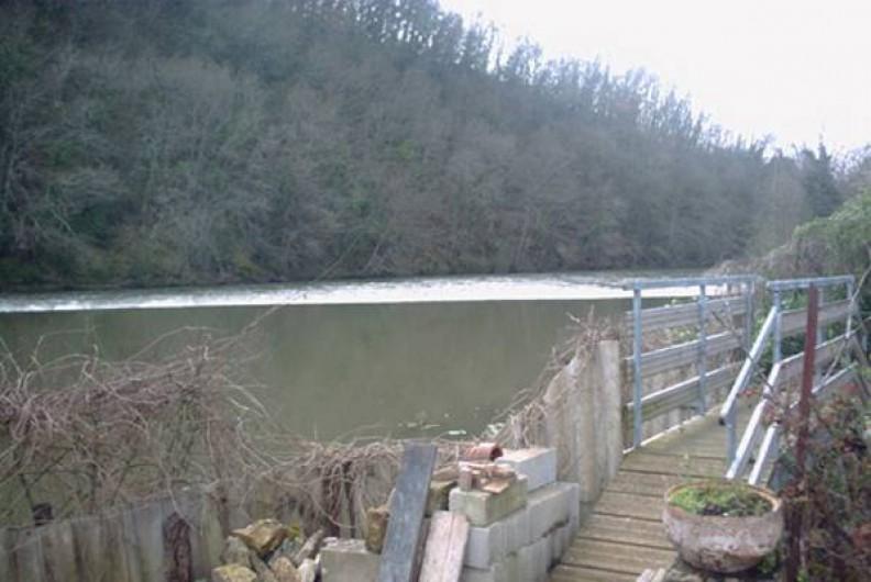 Location de vacances - Chalet à Périgueux - Vue sur la rivière
