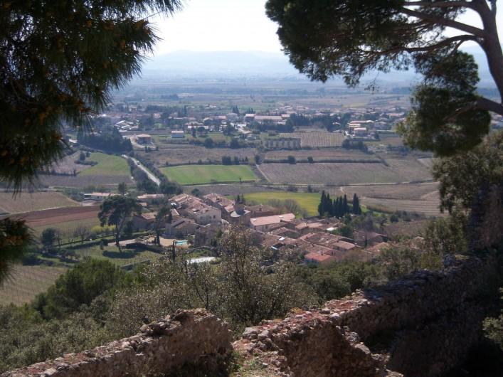 Location de vacances - Gîte à Montpeyroux - Montpeyroux vu du Castellas