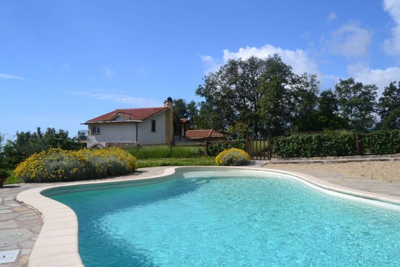 Location de vacances - Gîte à Vasia - La piscine à coté de la maison