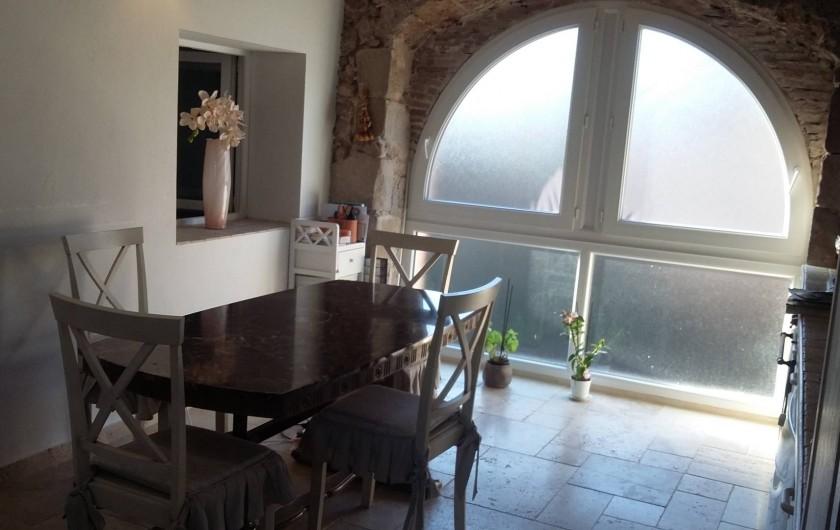 Location de vacances - Appartement à Les Arcs - SALLE A MANGER
