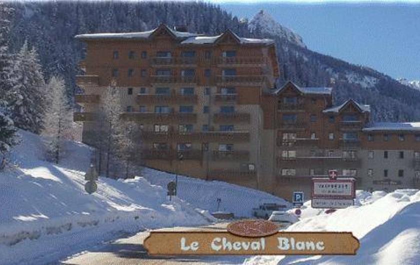 Location de vacances - Appartement à Station de Valfréjus - Le cheval Blanc charmante résidence