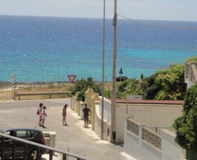 Location de vacances - Appartement à Torre San Giovanni - Vue du Balcon de l'appartement