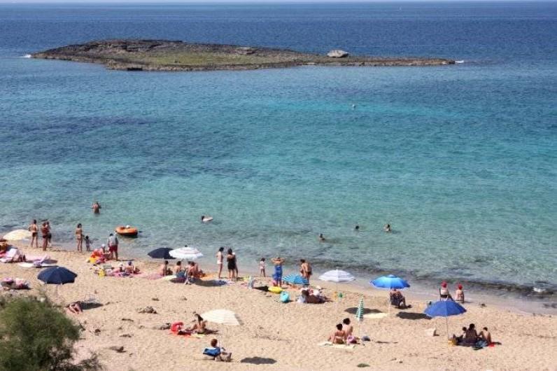 Location de vacances - Appartement à Torre San Giovanni - plage a 250 mt de l'appartement