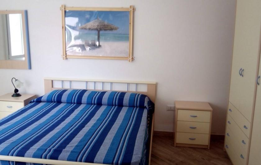 Location de vacances - Appartement à Torre San Giovanni - Chambre avec lit double (autre vue)