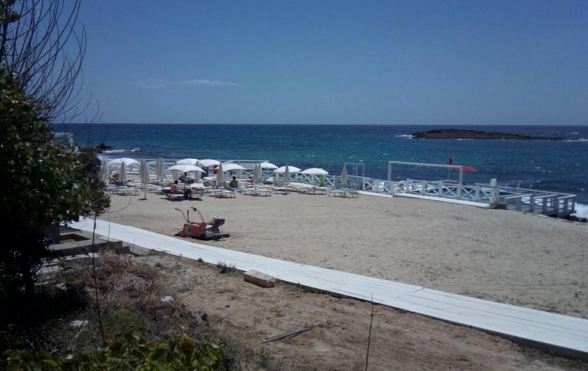 Location de vacances - Appartement à Torre San Giovanni - La plage de lido Pazze a 250 mt de l'appartement