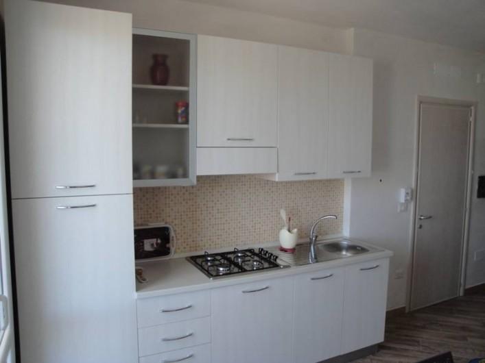 Location de vacances - Appartement à Torre San Giovanni - Coin cuisine