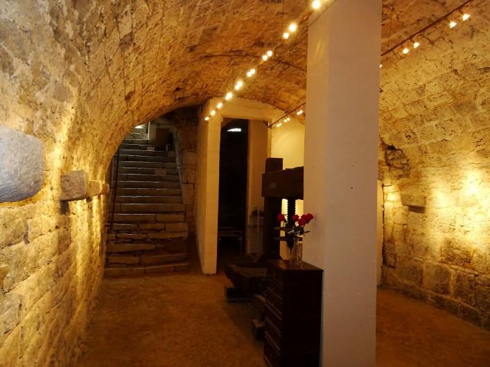 Location de vacances - Chambre d'hôtes à Lods - Cave