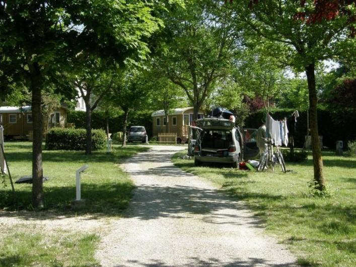 Location de vacances - Camping à Mirabel-et-Blacons