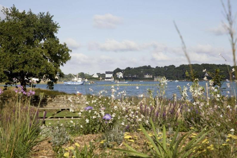 Location de vacances - Chambre d'hôtes à Locoal-Mendon - Jardin coté Ria d'Etel
