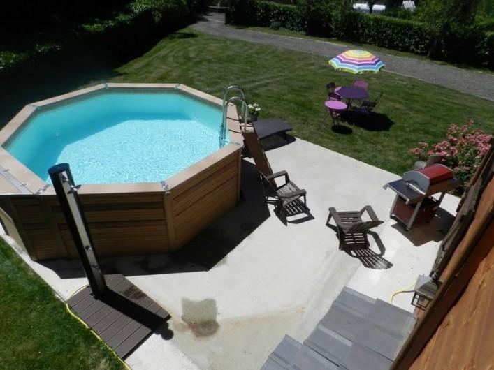 Location de vacances - Chalet à Saissac - La piscine.