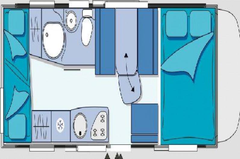 Location de vacances - Camping-car à Izaux