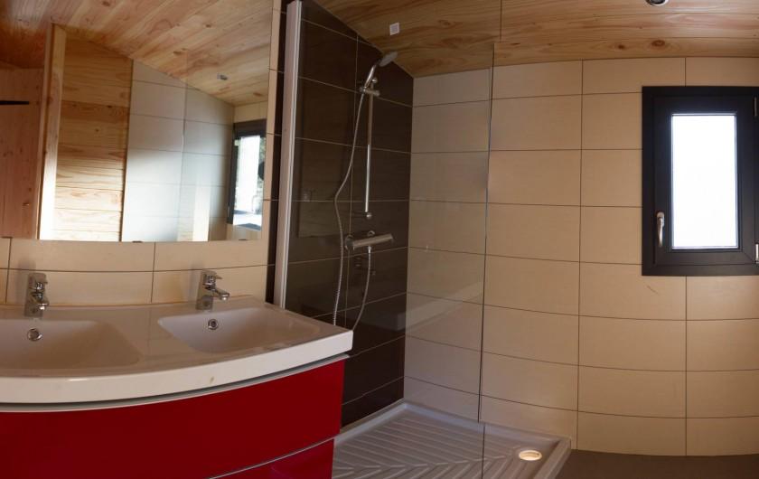 Location de vacances - Chalet à Veynes - la salle de bain
