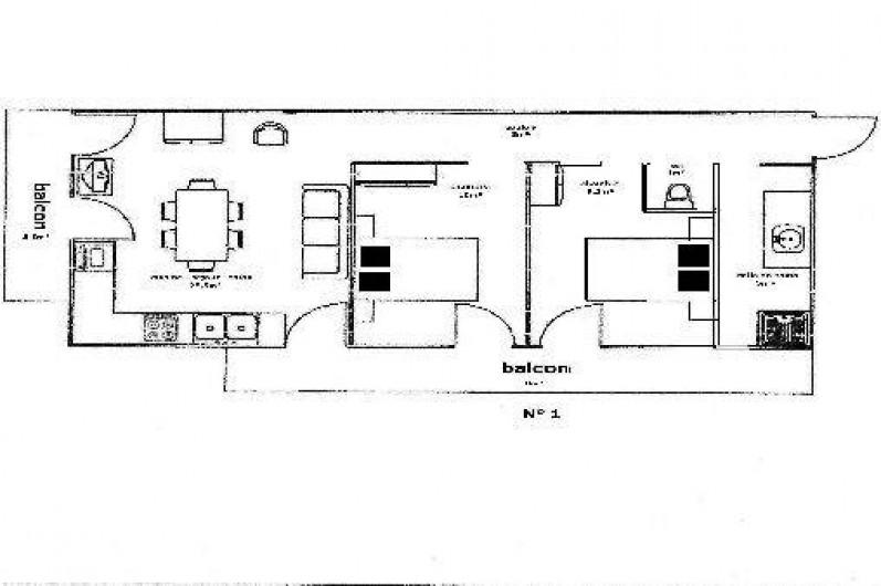 Location de vacances - Appartement à Abondance