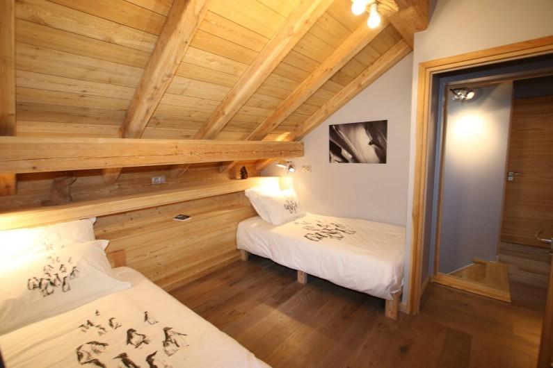 Location de vacances - Appartement à La Salle-les-Alpes - Chambre 5  2 lits + 1 lit tiroir