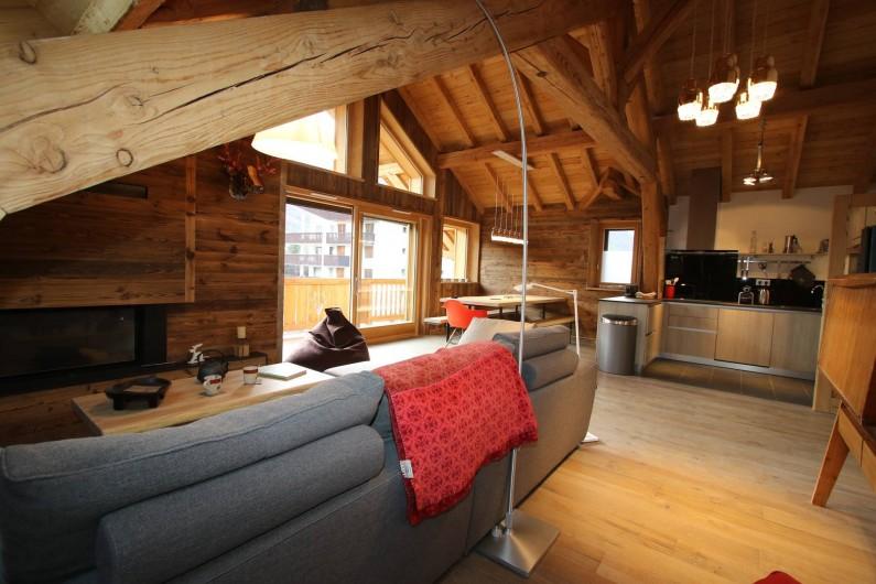 Location de vacances - Appartement à La Salle-les-Alpes - Cheminée