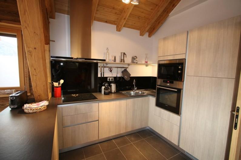 Location de vacances - Appartement à La Salle-les-Alpes - Cuisine