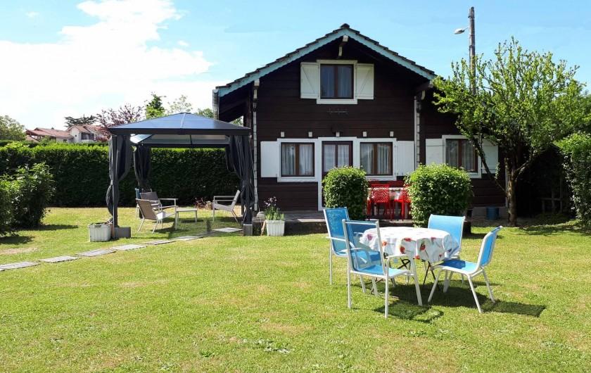 Location de vacances - Chalet à Excenevex - Chalet le Cri-Cri