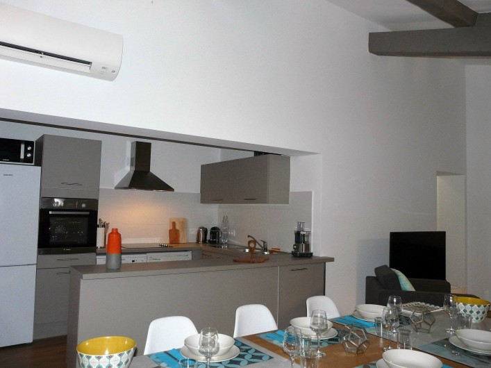 Location de vacances - Appartement à Ramatuelle - Cuisine