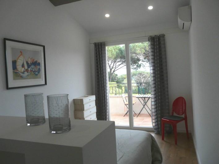 Location de vacances - Appartement à Ramatuelle - Chambre 1.1
