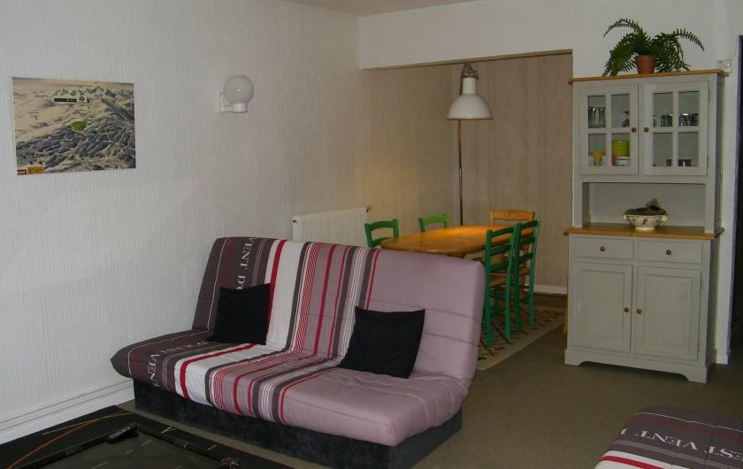 Location de vacances - Appartement à Superbolquère - Vue du coin repas