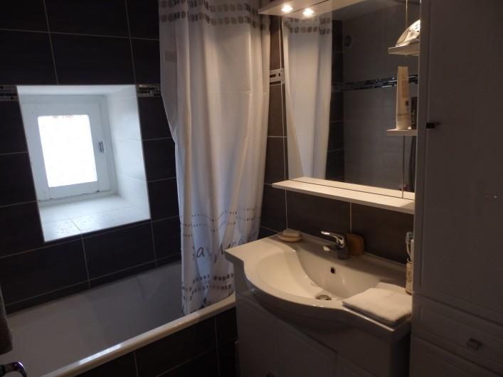 Location de vacances - Appartement à Gruissan - Salle de Bain