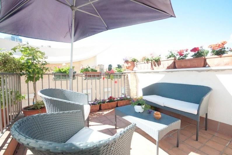 Location de vacances - Villa à Vila Olímpica - Terrasse 3ème étage