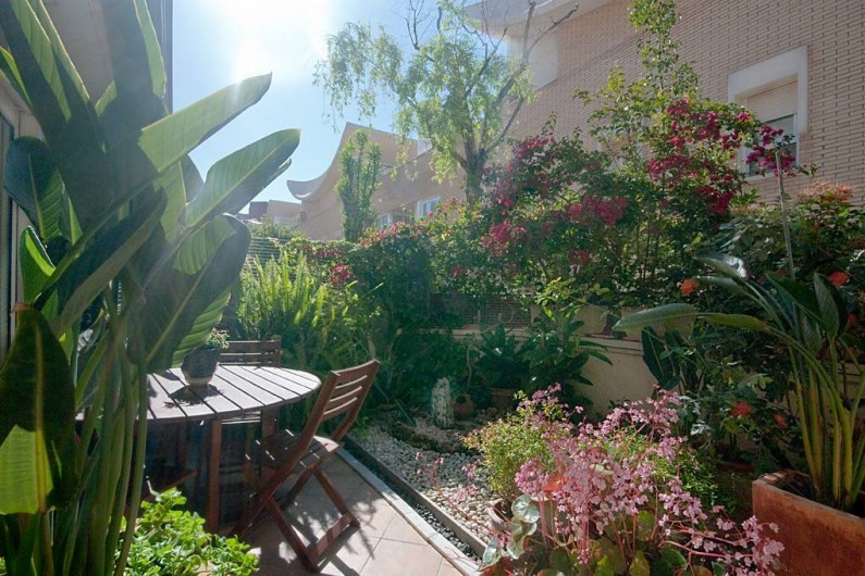Location de vacances - Villa à Vila Olímpica - Jardin